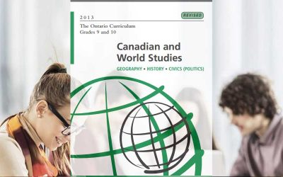 CHC2D: Canadian History Since World War I, Grade 10, Academic