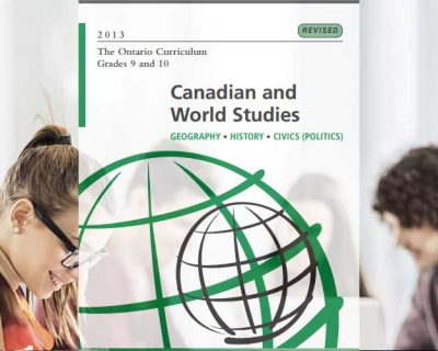 CHC2P: Canadian History Since World War I, Grade 10, Applied
