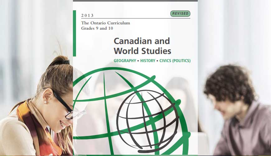 CGC1P: Issues in Canadian Geography, Grade 9, Applied