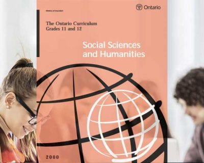HSP3U: Introduction to Anthropology, Psychology, and Sociology, Grade 11, University Preparation