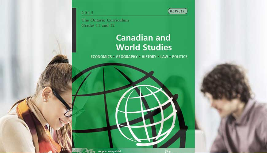 CGW4U: World Issues: A Geographic Analysis, Grade 12, University