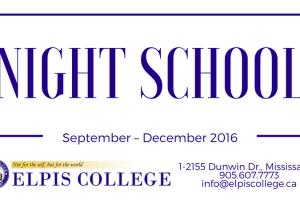 2016 Night School