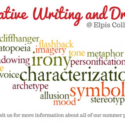 Summer 2018 – Creative Writing and Drama