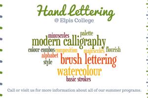 Elpis – Hand Lettering